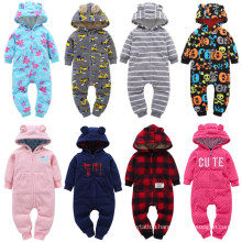 Long-Sleeve Fleece Baby Clothes Multicolor Spring Autumn Hoodie Climbing Baby Suit