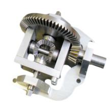 Custom Machined Steel Small Differential Gear