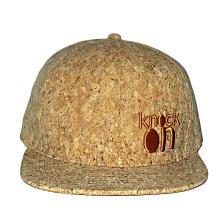 tampão liso de madeira feito sob encomenda do snapback do painel da borda 6 com o chapéu da parte traseira do bordado 3d para trás