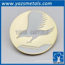 personalize a placa / etiqueta / cartão de águia de metal