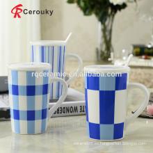 Taza cerámica del viaje del material de cerámica