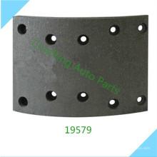Alto rendimiento 19579 19580 para MERCEDES BENZ zapata de freno forro