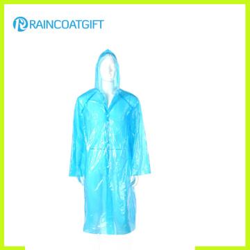 Veste de pluie PE jetable d'urgence à bas prix