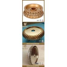 Rodas perfiladas de perfil de pedra de diamante / perfil de moagem de borda de diamante