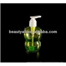 Botella de jabón líquido transparente mascota