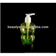 pet transparent liquid soap bottle
