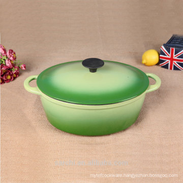 new product cast iron enameled middle size soup tureen