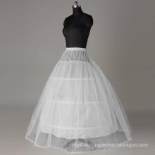 2017 высокое качество 3 обручи кринолин свадебное платье юбка свадебные