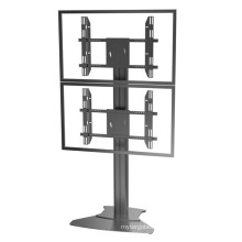 "Public TV Floor Stand Floorbase Dual Screens 30-60"" (AVA 201D)"