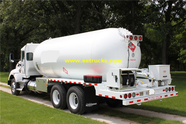 10 Wheeler Propane Delivery Tankers