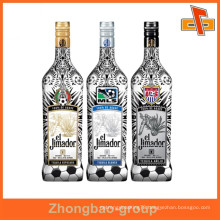Factory price PET/PVC transparent beer bottle label