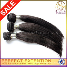 Дистрибьютор Бангкок 4шт 7а класс Оригинальное девственные волосы необработанные Перуанский прямые волосы