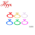HYYX Holiday Gift Handicraft Beauty Country Style confeti de papel metálico en color