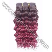 machine de couleur de cheveux humains 100 % T faite la trame de cheveux