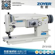 Zy3153 Zoyer haut avec fond d'alimentation Machine à coudre Zigzag