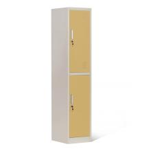 2 Tier Steel Locker Cabinet for Staff