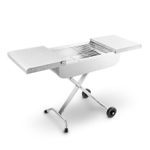 Багаж для багажа Grill New Grill Cart Чемодан Складной переносной гриль для барбекю