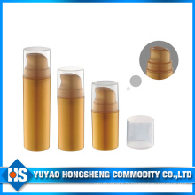 Hs-011 15ml 30ml 50ml PP Matériel Cosmétiques À l'aide de la bouteille de pompe sans air