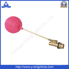 Баки для воды латунный плавая шариковый клапан с пластиковым шариком (уй-3016)