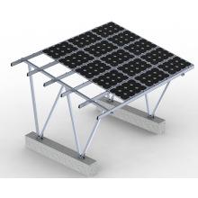Sistema de montaje de panel solar usado en el hogar
