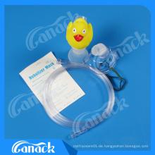 Ce-ISO-Zulassung Duck Hand Hold Nebulizer Maske Kits