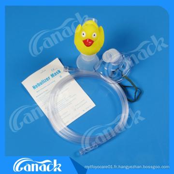 Ce ISO Approbation Kits de masque de nébuliseur à main de canard