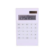 Promotional 12 Digits Solar Panel Desk Calculator