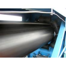 Cinta transportadora de tubería superior para la industria metalúrgica