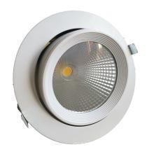 Lumière orientable vers le bas de 15 W approuvée par TUV Ce