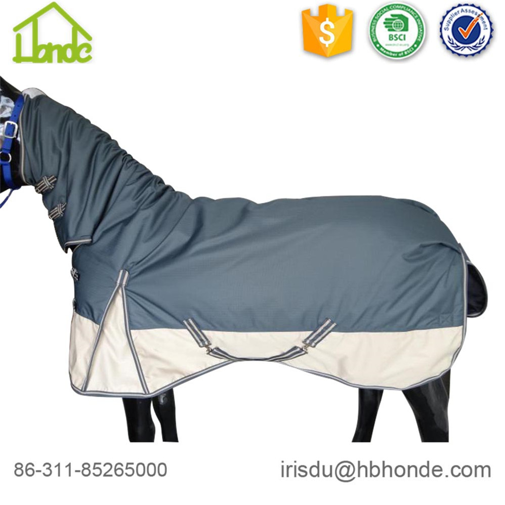 600d Polyester Windproof Horse Wolldecke