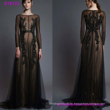 Fashion Handmade Sexy Chiffon Frauen Abendkleid