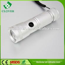 Aluminium 12000-15000MCD China führte starke Licht Taschenlampe