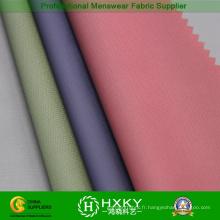 Nylon enduit de jacquard avec le tissu de mélange de polyester pour le manteau de duvet