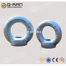 Diretamente da fábrica Drop forjado galvanizado DIN582 olho porca