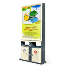Outdoor Advertising Type Dustbin (A462258)