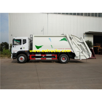 2500 Gallons 4xx Compressed Trash Trucks