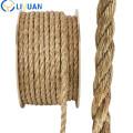 High tenacity twisted manila rope