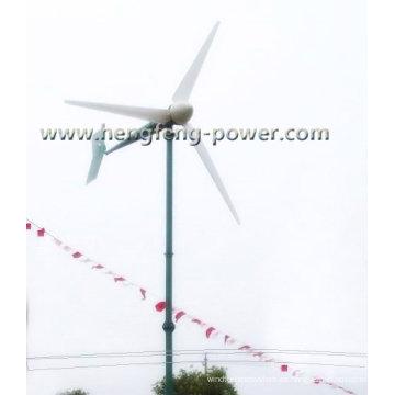 Turbina de viento 3KW eje horizontal