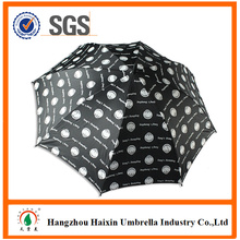 Popular Promotional Items Made in China Advertising Golf Black Umbrella