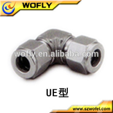 stainless steel double ferrules 90 degree elbows