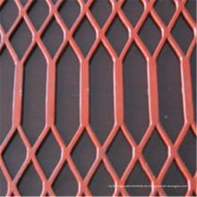Forma de diamante o cuadrado Malla metálica expandida de alta calidad