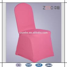 200GSM Venta al por mayor colorido y durable Spandex tela cena silla cubierta