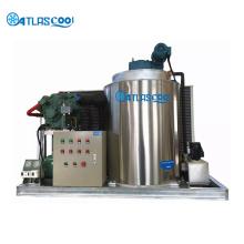 machine de fabrication de glace en flocons à usage commercial d'eau de mer