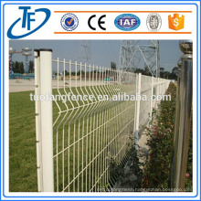 Low Price PVC Coated Steel Garden Fence Panel (China Manufacturer)