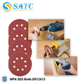 SATC- A/O professional hook and loop fastener triangle sanding disc ,5hole sanding disc