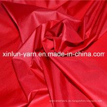 Indisches Polyester-Nylongewebe Oxfords Elastane für Kleid