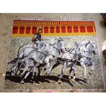 Mosaikmalerei, Künstlerisches Mosaik für Mauer (HMP827)