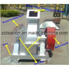 Máquina de astillado de madera eléctrica de alta calidad móvil