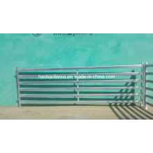 Barra ovalada galvanizada / barra 30X60mm 40X80m m Panel del ganado