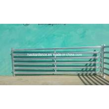 Galvanisé Oval Rail / Bar 30X60mm 40X80mm Bateau à bétail